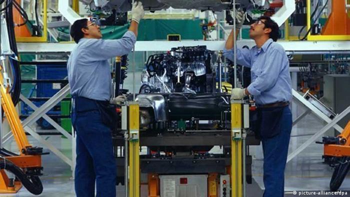 Fábrica de VW en Puebla, pertenciente al Grupo Audi.