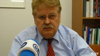 EU-Ukraine Gipfel in Brüssel am 25.2.2013 Foto: Yevgen Teyze Vorsitzender des Ausschusses für auswärtige Angelegenheiten im Europäischen Parlament Elmar Brok (EVP)