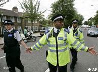 La policía de Londres se encuentran a menudo en estado de alerta