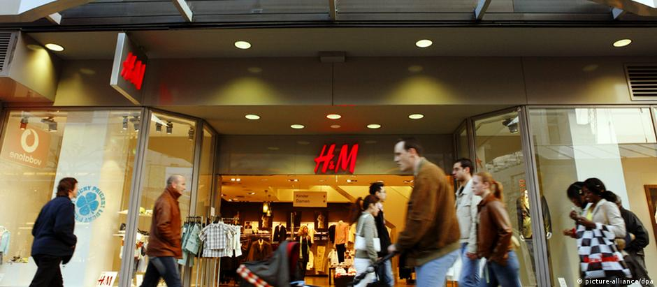 Filial da H&M em Frankfurt: empresa sueca desistiu, pelo menos a médio prazo, de se instalar no Brasil