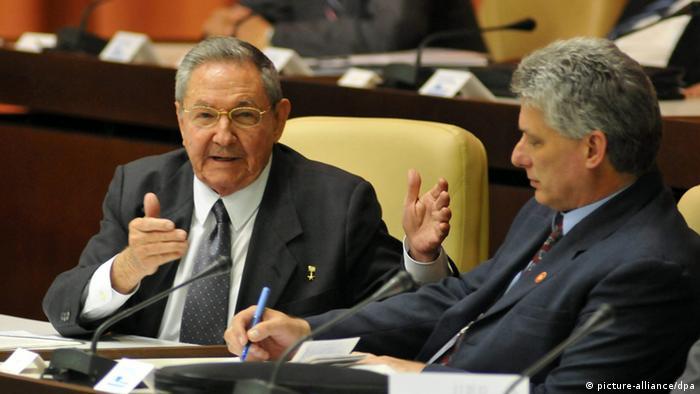 Nationalversammlung Kuba (picture-alliance/dpa)