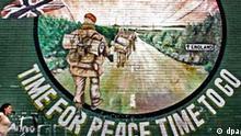 BdT: IRA erklärt bewaffneten Kampf für beendet, Plakat Time for peace time to go
