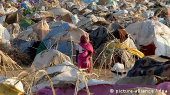 Flüchtlingslager Migrantenlager Darfur