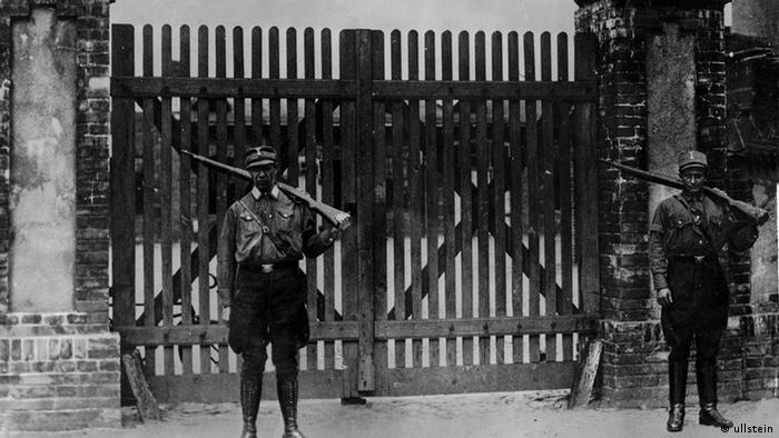Один из первых нацистских концлагерей. Это только начало - 1933 год