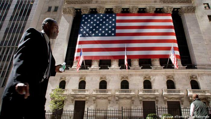 Wall Street Außenaufnahme