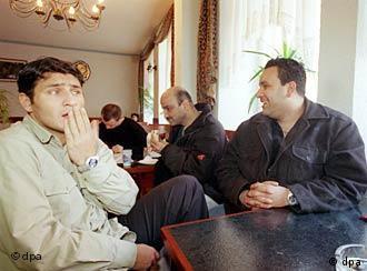 قهوه خانه تركى، محل ديدار بسيارى از مردان ترك در آلمان