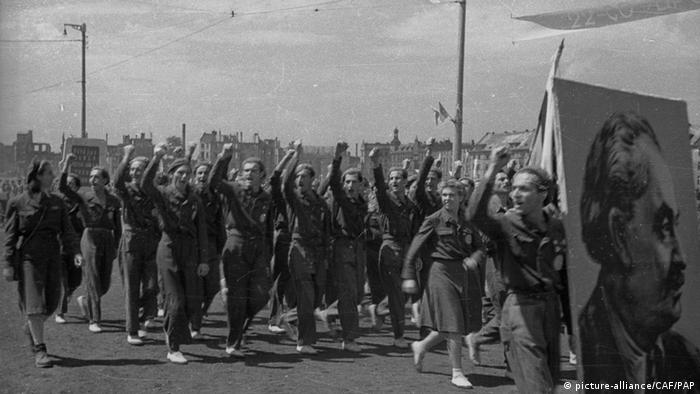 Polnischer Jugendverband ZMP 1948