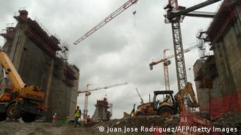 Panama Kanal Bauarbeiten Archiv August 2013