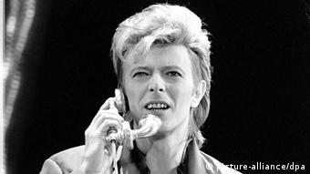 David Bowie - 1987 Concert in Berlin, Copyright: dpa - Report