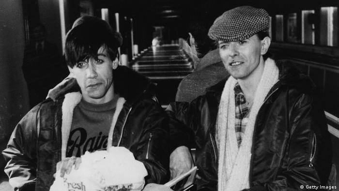 Deutschland Großbritannien Musik David Bowie und Iggy Pop