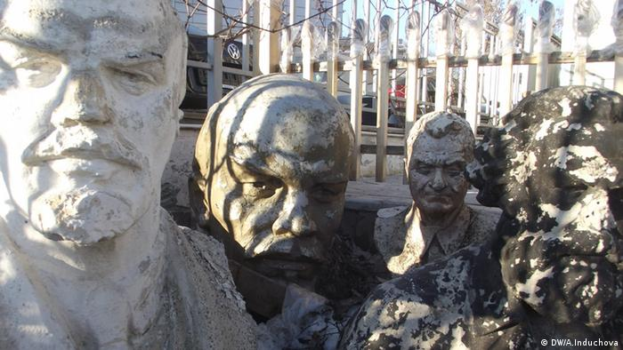 Sowjetische Denkmäler in der Ukraine