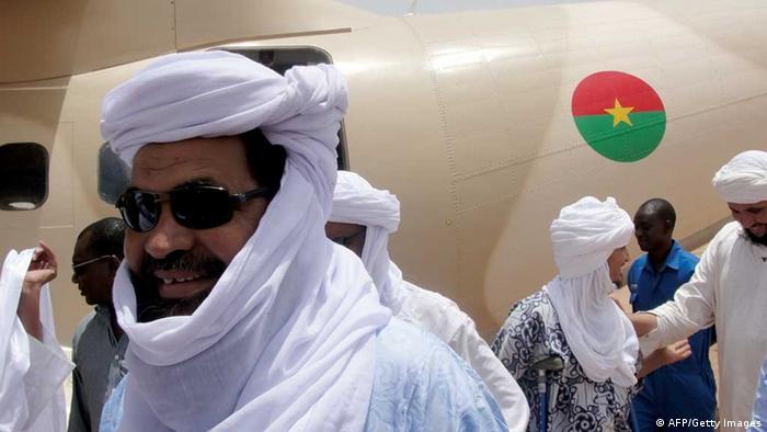 Iyad Ag Ghali, un des chefs djihadistes maliens
