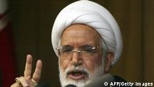 Iran Mehdi Karroubi Archivbild 2009 (AFP/Getty Images)
