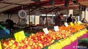 На рынке в Бонне