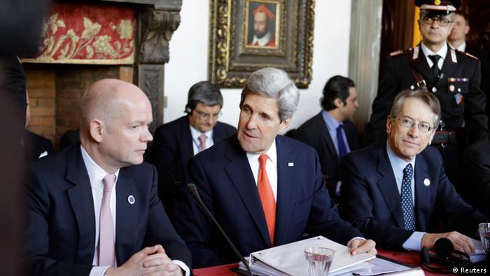 Встреча глав МИД Группы друзей Сирии