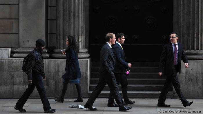 Symbolbild für Banker Bank of England