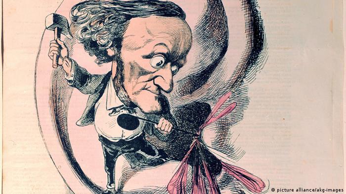 Bildergalerie Richard Wagner Karikaturen