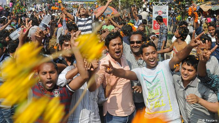Delwar Hossain Sayedee Kriegsverbrechen Todesurteil Bangladesch Jubel