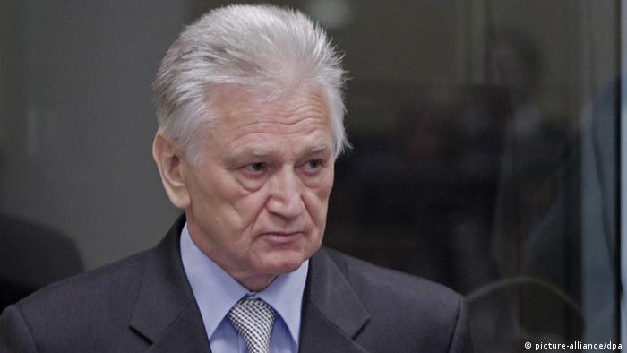 UN court acquits ex-Yugoslav army leader Perisic | News | DW