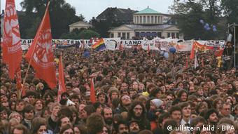 Bonn demonstration 1981 Photo: ullstein bild - BPA