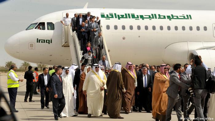 Irakisches Luftlinie fliegt wieder