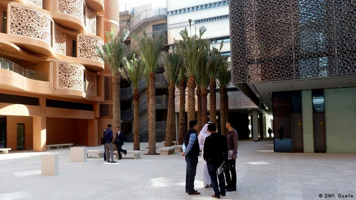 Das Masdar Institute in Masdar City (Foto: DW)