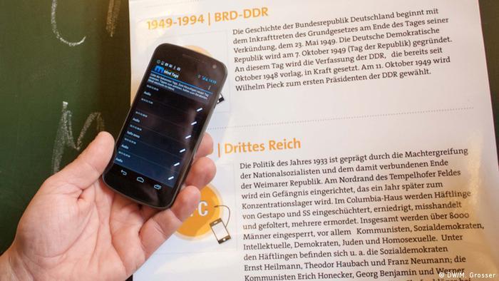 Mindtags Smartphone Software für Blinde