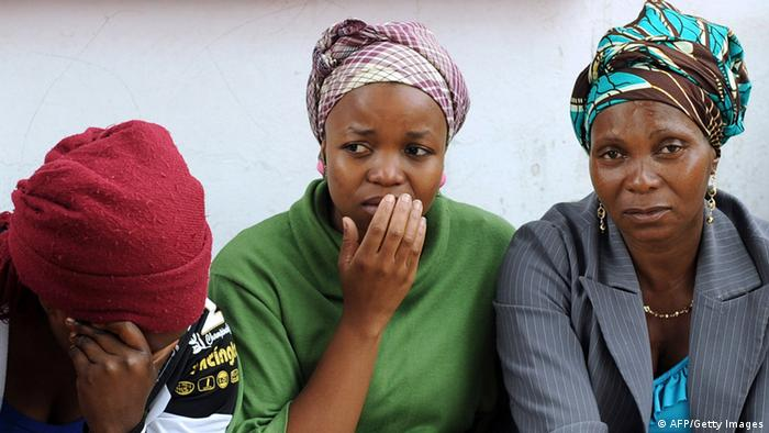 Relatives of Mozambican taxi driver Mido Macia who was killed by police in South Africa