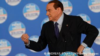 Italien Silvio Berlusconi Clown