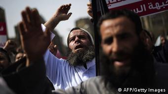 Ägypten Salafisten Proteste