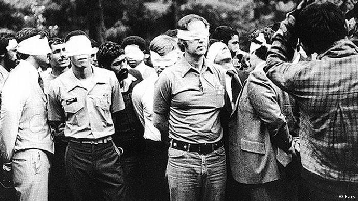 US hostages in Iran