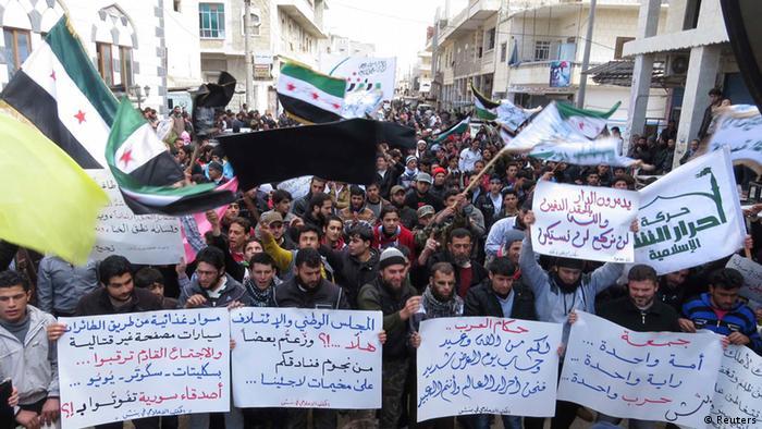 Syrien Protest Idlib März 2013 (Reuters)