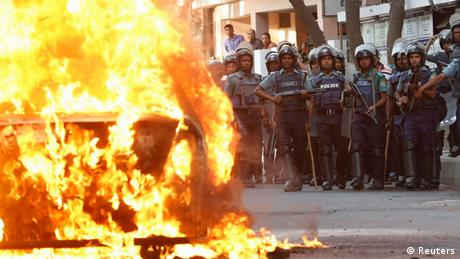 Bangladesch Ausschreitungen (Reuters)