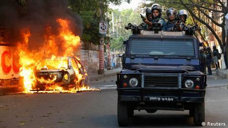 Bangladesch Ausschreitungen