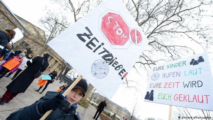 Prosvjed djece u Stuttgartu