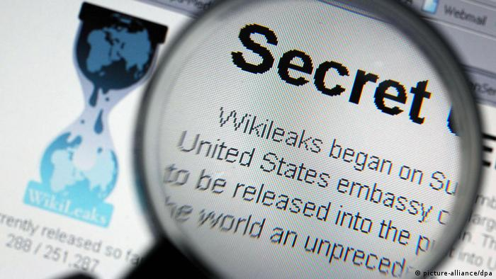 La plataforma Wikileaks dice luchar por la transparencia