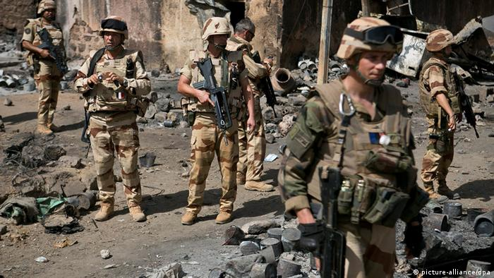 Französische Soldaten in Mali (foto: dpa/EPA)