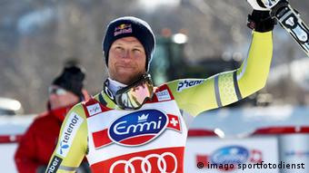Picture shows the cheering from Aksel Lund Svindal (Photo: GEPA Pictures)