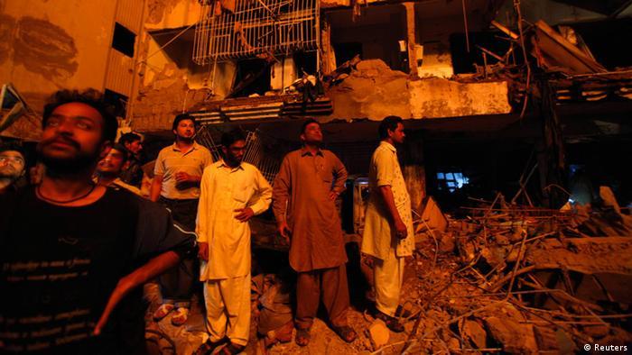 Pakistan Bombenanschlag (Reuters)