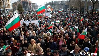 Bulgarien Demonstration