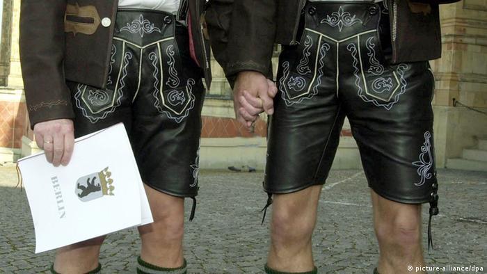 Symbolbild Homo-Ehe Gleichstellung Deutschland