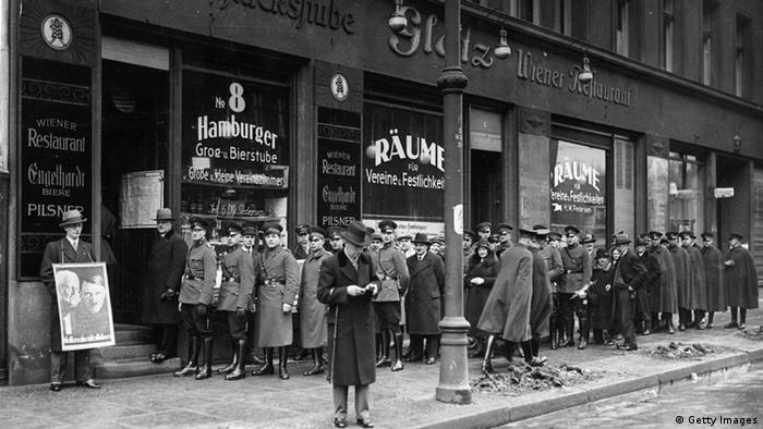 Reichstagswahlen 1933 (Getty Images)
