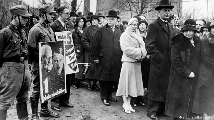 Reichstagswahlen 1933 (picture-alliance/akg)