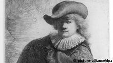 Rembrandt Radierung