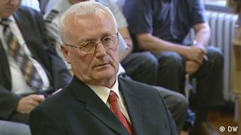 Porträt des kroatischen Ex-Geheimdienstlers Josip Perkovic (Foto: DW)