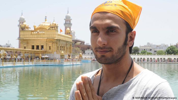 Indien Bollywood Schauspieler Ranveer Singh (NARINDER NANU/AFP/GettyImages)