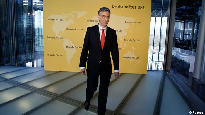 Frank Appel Deutsche Post DHL Jahresbericht (Reuters)