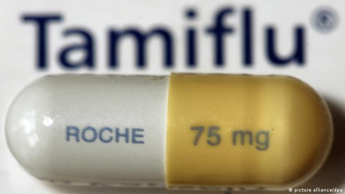 A Tamiflu tablet. (Photo: Martin Gerten dpa/lni)