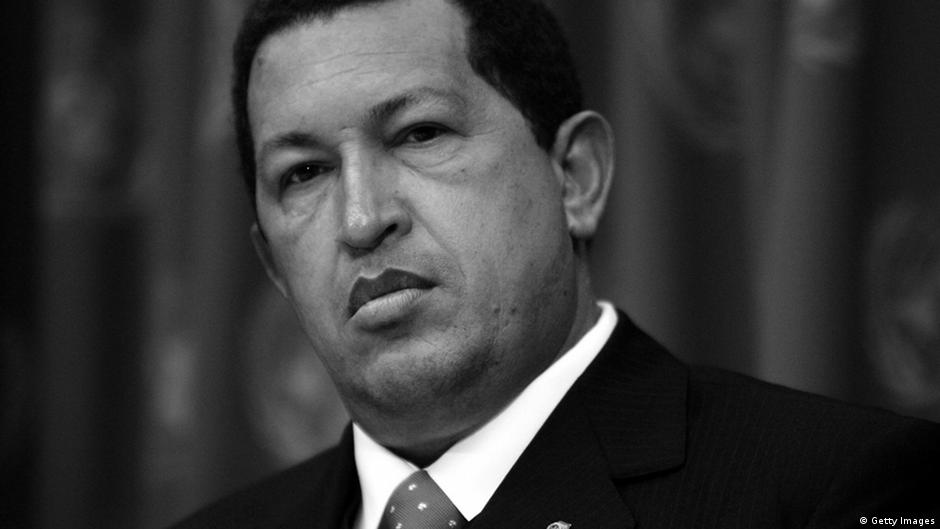 NEW YORK - SEPTEMBER 20: Venezuelan President Hugo Chavez speaks during a news conference while attending the United Nations General Assembly September 20, 2006 at the UN in New York City.The annual conference comes at a contentious time for the world body as sanctions are being considered for Iran, while separately; UN peacekeepers are taking part in 18 operations around the world. (Photo by Spencer Platt/Getty Images)