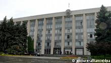Moldawien Regierungsgebäude Archivbild